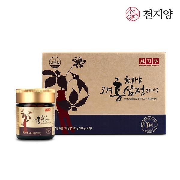 천지양 고려홍삼정 프리미엄200g 홍삼농축액 선물세트