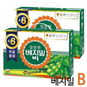 달콤한 베지밀B 비 두유 190ml x48팩 (18+6팩)x2