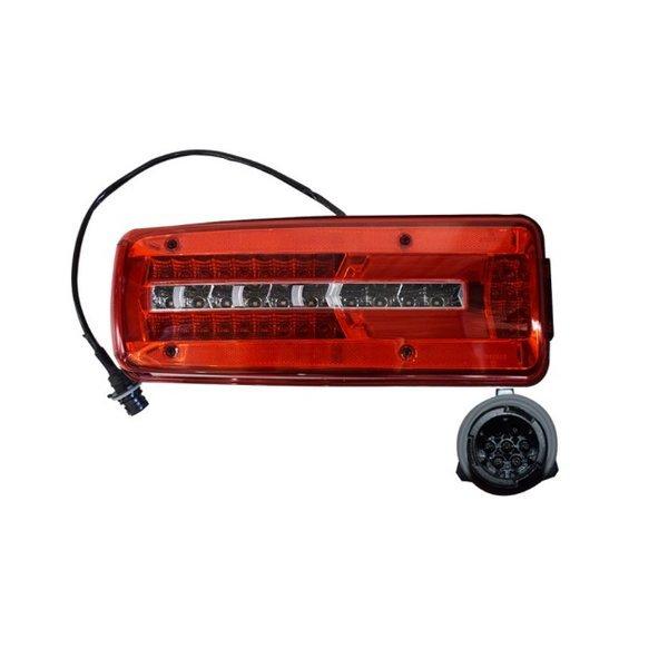 대성부품/만트럭 LED 데루등/유로6/브레이크등/신형