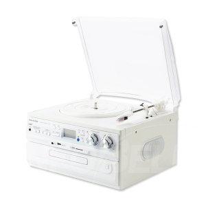 사운드룩 LP 턴테이블 디지털 CD 플레이어 SLT-300W