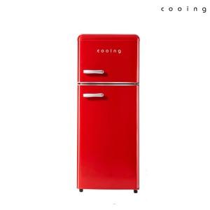 북유럽형 레트로 냉장고 REF-D121R 쿠잉/소형/미니