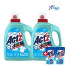 액체세제 액츠 퍼펙트 실내건조 3.2L일반용2개 +사은품