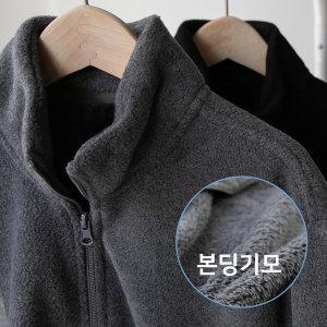 호프 안감 본딩기모 집업 남자 겨울 트레이닝복잠바