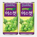 썬키스트머스캣175ml 30캔 과즙음료 음료수