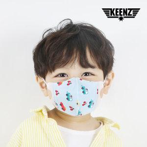 3D 베이비 유아 아동 마스크 자동차 100매