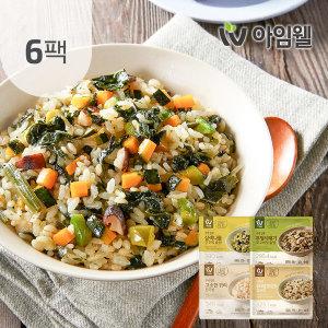 닭가슴살 곤약볶음밥200g 4종 6팩 삼색/무청/현미/귀리