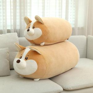 모찌 강아지 쿠션 바디필로우 웰시코기 인형 60cm