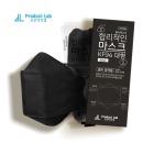 kf94 마스크 블랙 대형 합리적인 비말차단 국내산 60매