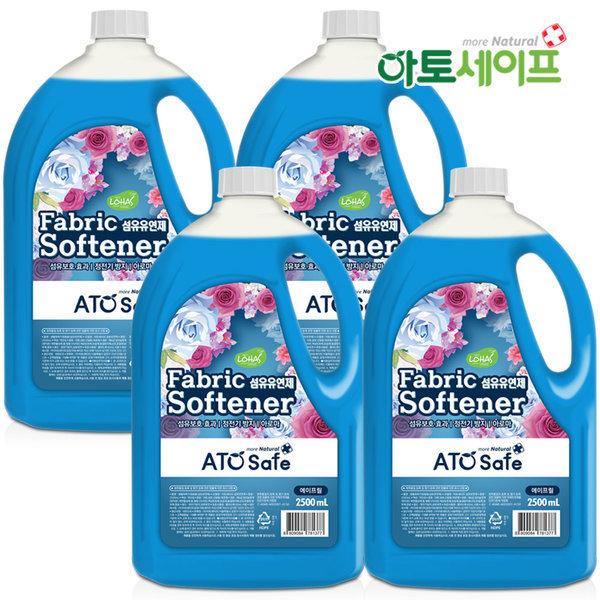 아토세이프 섬유유연제 (에이프릴향 2.5L 4개)