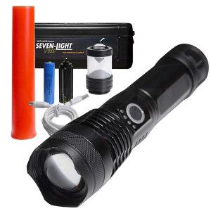 세븐라이트 프로 손전등 LED 충전식 랜턴 렌턴