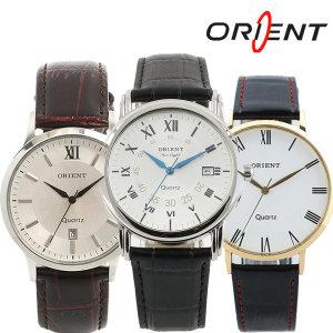 오리엔트 정품 모던 클래식 가죽밴드 손목시계