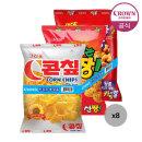콘��+신짱+카라멜콘땅콩 묶음(총 24봉)/스낵/과자
