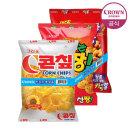 콘��+신짱+카라멜콘땅콩 묶음(3봉)/스낵/과자
