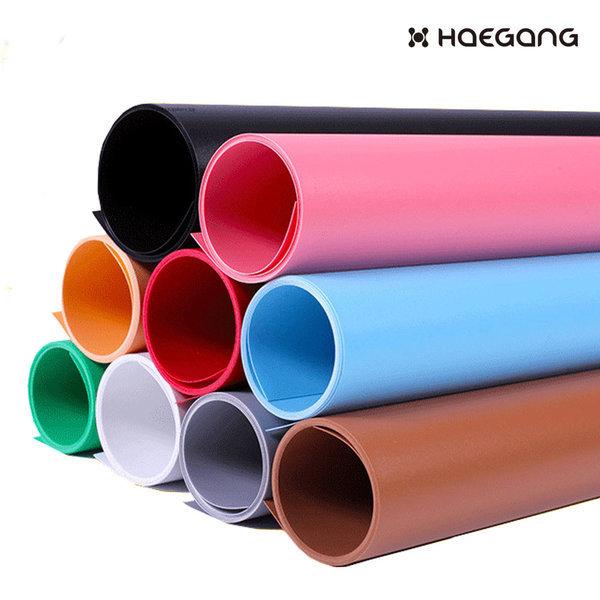 PVC 촬영 배경지 68x130 컬러 사진 배경 제품 소품