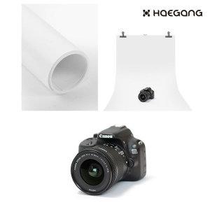 PVC 촬영 배경지 100x200 블랙 화이트 사진 배경 제품