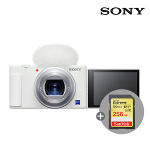 소니 ZV-1 +256GB메모리(4K지원) /화이트/공식대리점