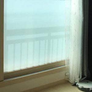 무점착 반투명 안개시트지 필름지 창문 유리 2M