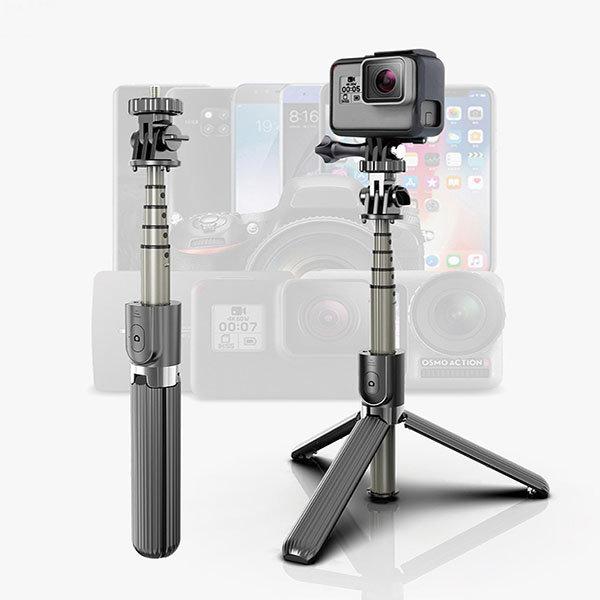 초경량 나비 스마트폰 액션캠 셀카봉 삼각대 블루투스
