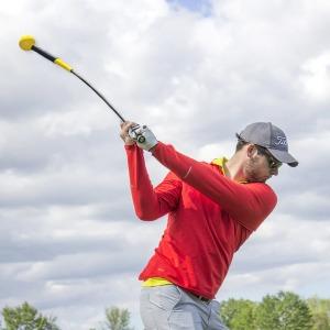 장타 골프 스윙 연습기 비거리 드라이버 옐로우