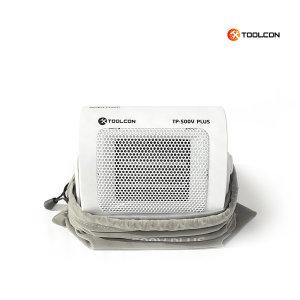 툴콘 TP-500V 팬히터 미니온풍기 화이트/500W