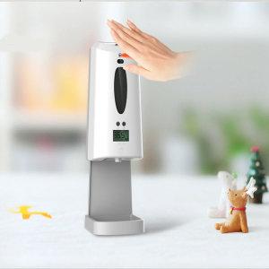 비대면 자동 손 젤소독 디스펜서 언컨택 손 온도 측정