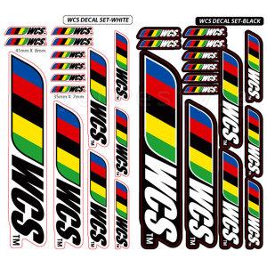 FS WCS 반사 스티커세트 자전거 스티커 MTB 로드