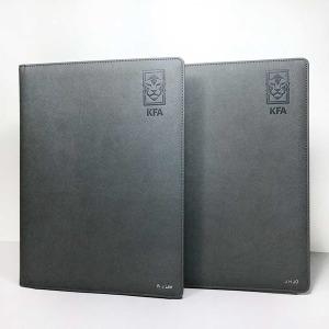 이니셜스 가죽 결재판 클립보드 A4 이니셜 무료