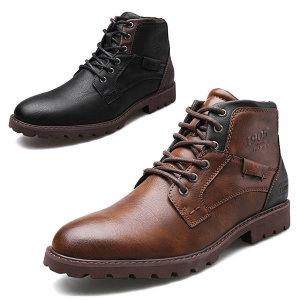 남자 가을신발 남성 워커 신발 지퍼부츠 워커부츠