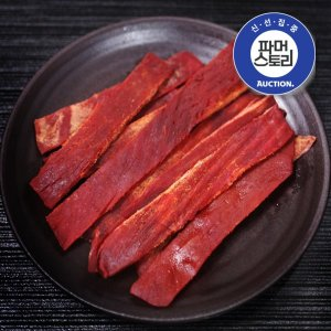 (신통씨푸드) 매콤한 오징어육포(대) 240g
