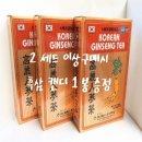 흑삼/홍삼정/고려 인삼차 100포x 5 박스