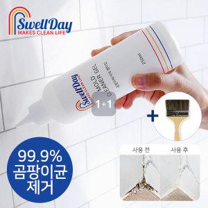 욕실주방 곰팡이제거제 젤타입 250ml 1+1 2세트 붓증정