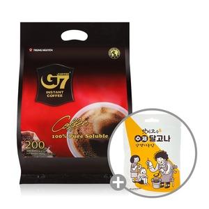 베트남 G7 커피/Pure Black 200T/블랙 +달고나 20g