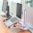 OMT높이조절 노트북 태블릿 암 거치대 받침대 ONA-OA1
