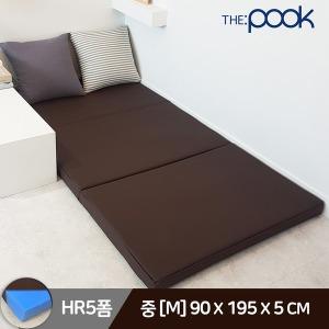 HR5폼/레자/중 3단 접이식 매트리스 토퍼