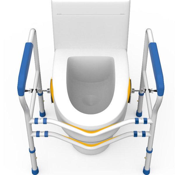 화장실 안전손잡이 변기 안전바 장애인 보조 노약자