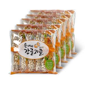 은가비 제주 감귤과즐 5봉 선물세트 (1봉 35g/10개입)