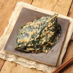 수미푸드몰 된장 콩잎 장아찌 1kg 반찬 /3+1