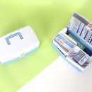 투톤구급함 8종약품세트 구급함 구급상자 구급가방