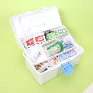 구급함 소형 12종약품세트 구급상자 구급가방 약통