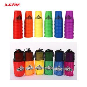 스타 스패킹 스포츠 스피드 컵쌓기 색상 : 랜덤