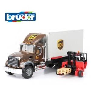 독일명품완구 브루더 MACK 맥 UPS 물류트럭 BR02828