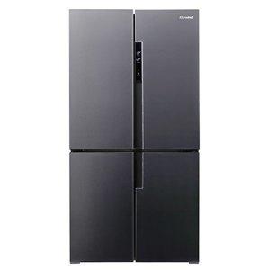 캐리어 클라윈드 피트인 냉장고 CRF-SN566NFP (566L 차콜 다크그레이)