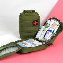 구급낭 XL 13종약품포함 카키색 응급키트 구급가방