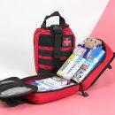 구급낭 XL 크로스 레드 16종약품 응급키트 구급가방