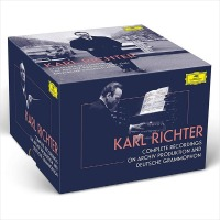 (수입97CD+3Blu-Ray Audio) Karl Richter - Complete Recordings on Archiv Produktion and DG