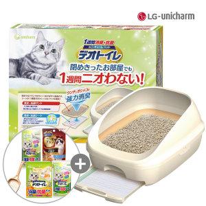 유니참 데오토일렛 고양이화장실 오픈형+사은품증정