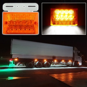 24V 2way LED 차폭등 노랑/사이드램프/화물차용품