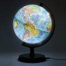 24cm 블루 조명 지구본 24-BL / LED 무드등 안전인증