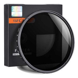 KNF Concept Slim Fader ND2-ND400 렌즈필터 49mm