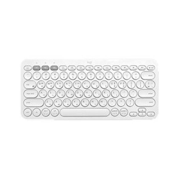 로지텍  K380 블루투스 한글자판 정품 키보드 화이트
